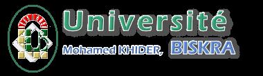 Université Mohamed Khider de Biskra