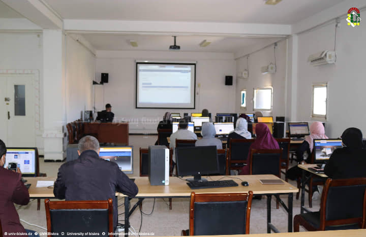 مركز الشبكات والأنظمة المعلوماتية لجامعة محمد خيضر ينظم الورشة الثالثة المفتوحة على منصة التعليم عن بعد Moodle